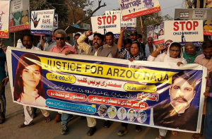 Justice for Arzoo protest