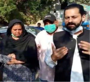 Jibran Nasir with Arzoo's parents