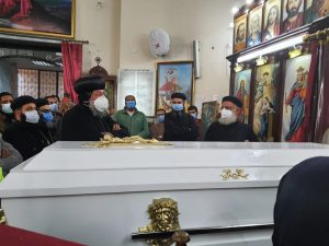 Ramsis Boulos Hermina's coffin