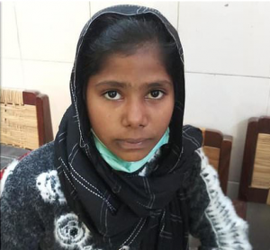 Rescued Farah Shaheen