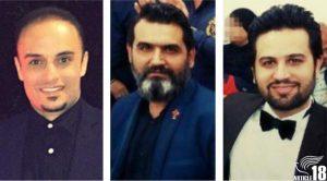 Habib Heydari and Sam and Sasan Khosravi