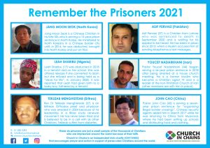 Remember the Prisoners Poster 2021