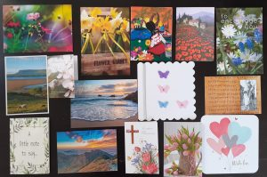 Cards for Leah's family