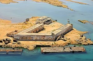 Nakura prison on Dahlak Islands