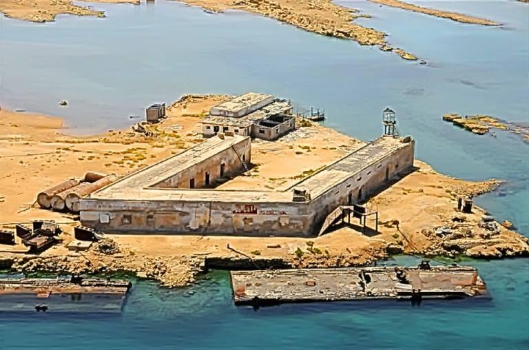 Nakura prison on Dahlak Islands