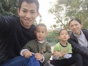 Dai Zhichao and family