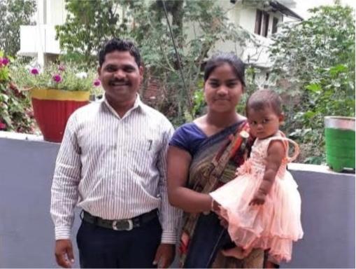 Manu & Asha Damor & child