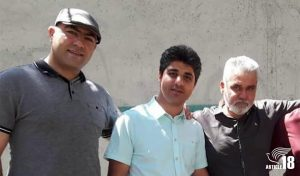 Milad, Amin and Alireza