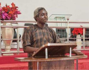 Pastor Polycarp speaking after release