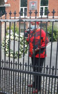 Embassy Counselloe with wreath