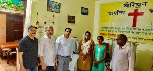 Sunita Kumar with Persecution Relief delegation