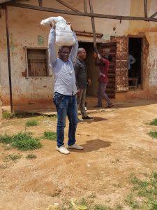 Irigwe Aid (Man with Sack)
