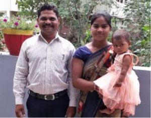 Pastor Manu Damor + wife Asha