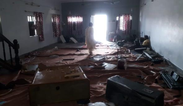 Roorkee church after attack